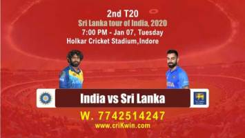 Sure Shot Today Match Prediction Ind vs SL 2nd T20 100% Sure Win