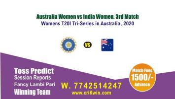 IN-W vs AU-W cricket win tips