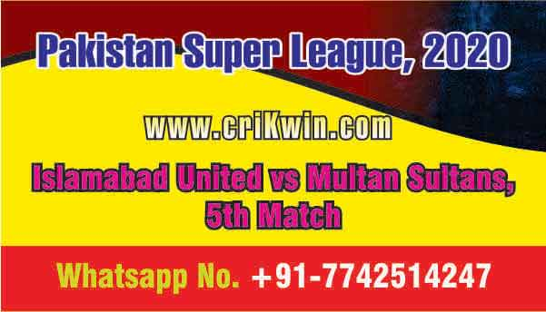 Today Match Prediction ISL vs MUL PSL 5th T20 100% Sure Win Tips