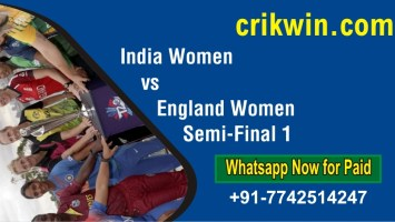 100% Sure Today Match Prediction EN-W vs IN-W Semi-Final 1 Womens