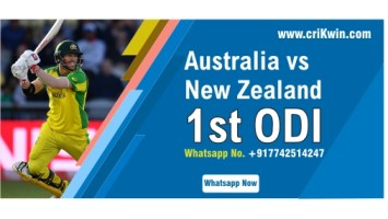 100% Sure Today Match Prediction NZ vs AUS 1st ODI Win Tips