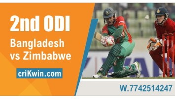 100% Sure Today Match Prediction Zim vs Ban 2nd International ODI WIN