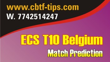 100% Sure Today Match Prediction ECS T10 Win Tips
