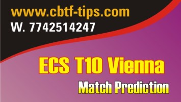 100% Sure Today Match Prediction PAK-CC vs ACW ECS T10 Win Tips