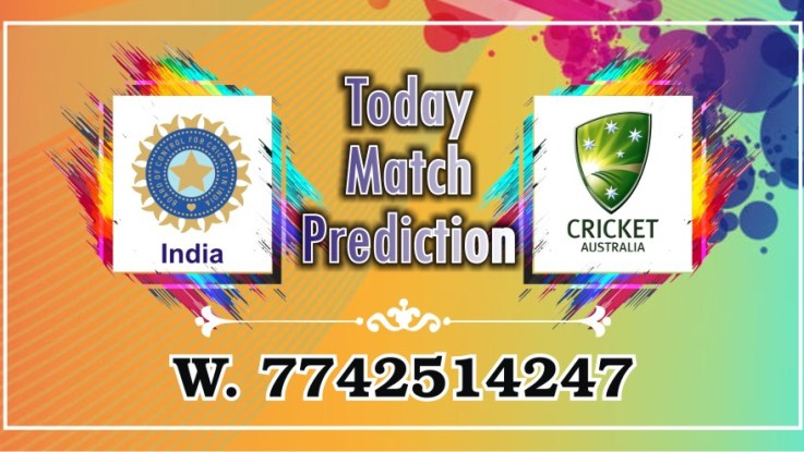 100% Sure Today Match Prediction Aus vs Ind International ODI Win Tips