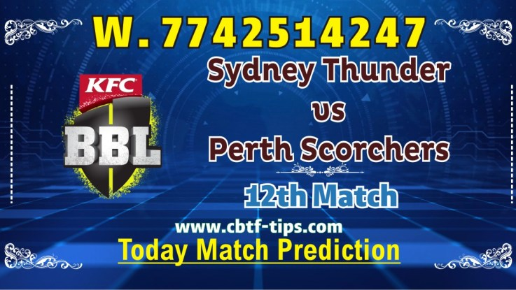 100% Sure Today Match Prediction SYT vs PRS BBL T20 Win Tips