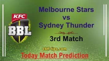 100% Sure Today Match Prediction SYT vs MLS BBL T20 Win Tips