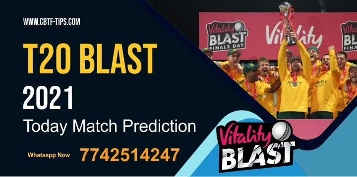 WOR vs NOT Dream11 Team Prediction, Fantasy Cricket Tips & Playing 11 Updates for Today's English T20 Blast 2021 - Jun 09, 10.00 PM