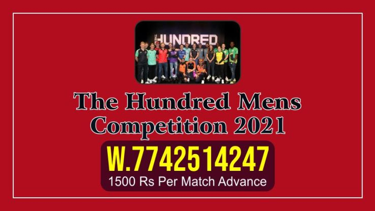 in this format, in which both men and women will play in a team. The first match of the 100 competition will be played in London. The first match of this competition is to be played between Aval and Manchester on 22 July 2021. According to our prediction, the oval will win this match.