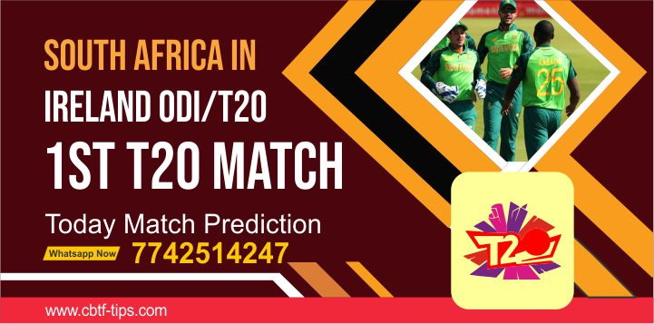 South Africa Team in Ireland T20, Match 1st: IRE vs SA Dream11 Prediction, Fantasy Cricket Tips, Playing 11, Pitch Report, and Toss Session Fency Update