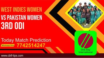 WIW vs PAKW Dream11 Team Prediction, Fantasy Cricket Tips & Playing 11 Updates for Today's Pakistan Women tour of West Indies Womens ODI 2021 - July 12, 2021 at 7.00 PM