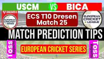 USC Magdeburg vs Berlin International Cricket Academy Dream11 Team Prediction, Fantasy Cricket Tips & Playing 11 Updates for Today's ECS T10 Dresen ECS T10 2021 - August 23, 2021 at 12.00 PM