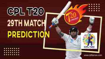 BR vs SLK Dream11 Team Prediction, Fantasy Cricket Tips & Playing 11 Updates for Today's CPL Caribbean Premier League 2021 - 12 Sept , 2021 at 7.30 PM