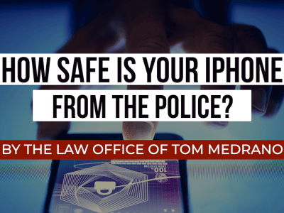how safe is your iphone from the police