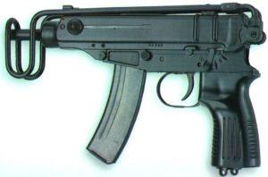 Man gepakt met Skorpion machinegeweer in Amsterdam