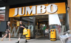 Jumbo supermarkt ergens in Nederland.