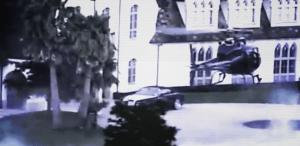 Inval FBI bij Kim Dotcom met helikopters en zwaarbewapende agenten © screenshot