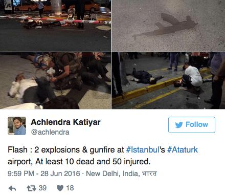 aanslag vliegveld istanbul, ataturk aanslag turkije, terroristische aanslag istanbul