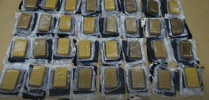 Cocaïne gevonden in de paardenkop uit Mexico © Politie Nieuw-Zeeland