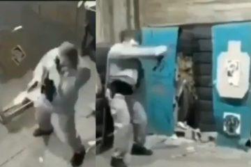 VIDEO: 'Snelste schutter ooit' toont zijn vaardigheden met een vuurwapen