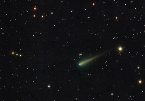 Комета? НЛО? Привет из Космоса
