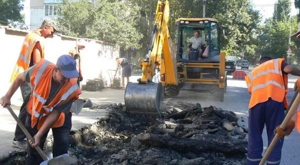 Симферополь. Точная информация о том, где ремонтируют дороги