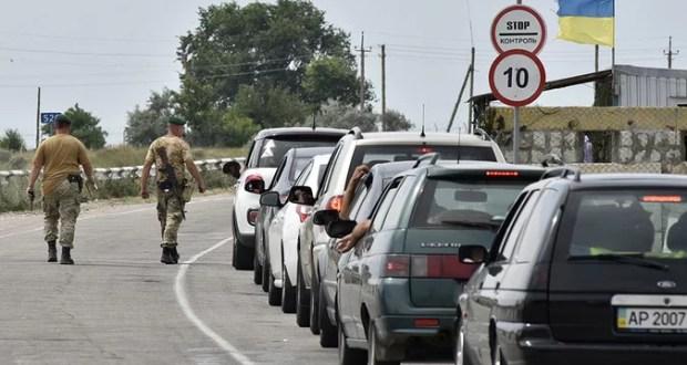 В Крым «ломанулись» тысячи туристов из Украины