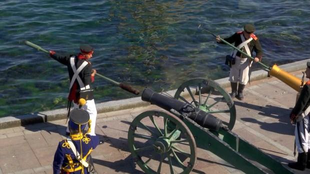 В Севастополе вспоминали, как топили корабли...