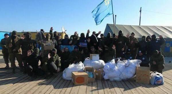 Бойцы «батальона Ислямова» сдались крымским силовикам