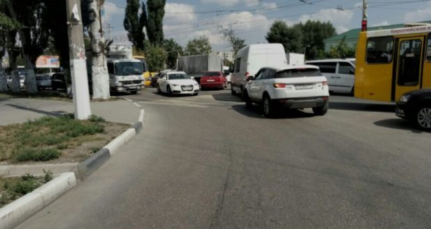 пробки в Симферополе сегодня