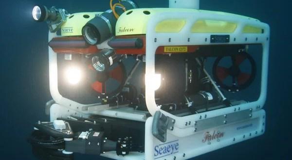 Затонувший в Черном море плавкран обследовал робот