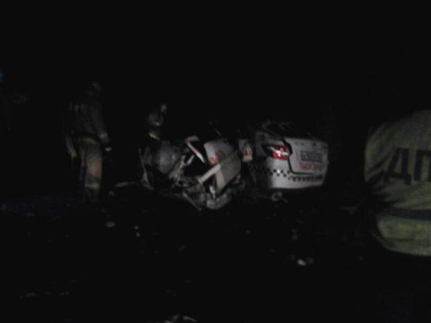 ДТП на Евпаторийском шоссе, ночь на 18 ноября. Водитель погиб...