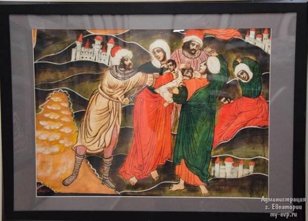 """Краеведческий музей Евпатории презентовал выставку """"Рождество Христово"""""""