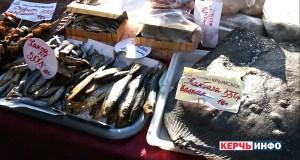 В Керчи в воскресенье торговали рыбой