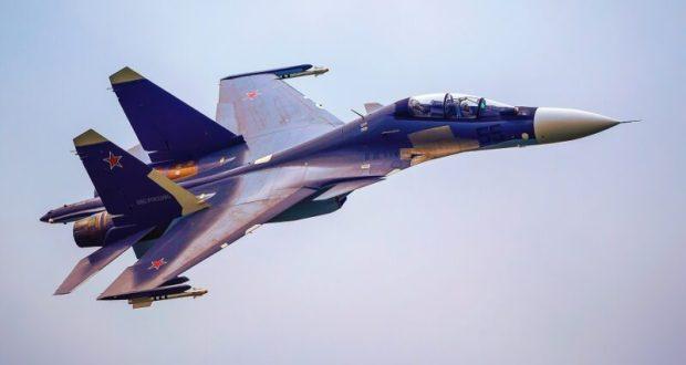 Новые Су-30СМ на Черноморском флоте