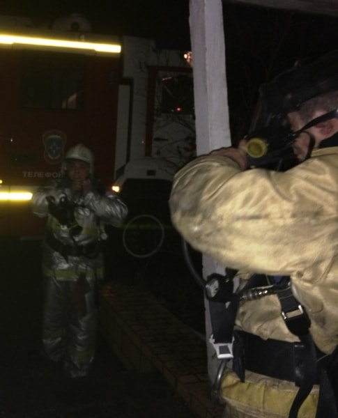 В ночном пожаре в крымском пгт.Кировское едва не погибли 16 человек