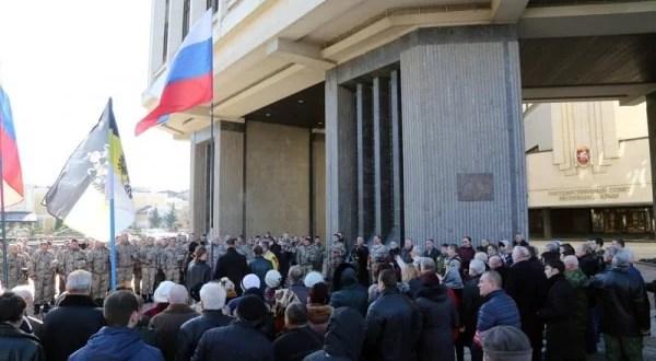 Три года спустя: митинг в память крымчан, погибших 26 февраля 2014 года