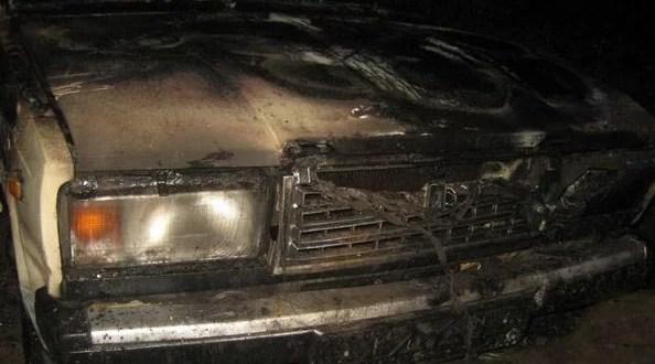 В Крыму сгорел автомобиль – на этот раз ВАЗ «семерка»