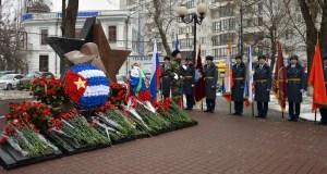 Крым почтил память героев Афгана