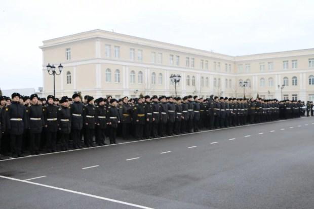 Воспитанники филиала нахимовского военно-морского училища
