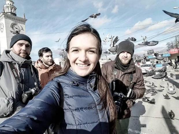 Фото: корреспондента СТБ Ирины Ромалийской