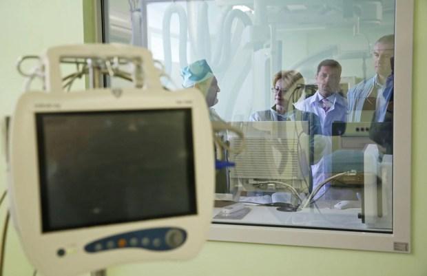 Сосудистый центр на базе больницы им. Н.А. Семашко в Симферополе открыт