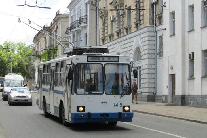 В Севастополе на 50% подорожает проезд в троллейбусах