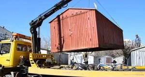 В Евпатории демонтируют гаражи. Массово...