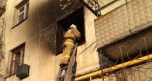 Пожар в крымском пгт. Вольное: в горящей квартире едва не погибла женщина