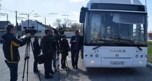 В Симферополе презентовали автоматизированную систему оплаты проезда в городских автобусах
