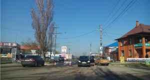 ЧП на автозаправке в Керчи - разлился бензин