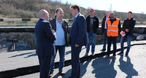 Мониторить работы на разрушенном участке трассы будет севастопольский «Дорожный контроль»