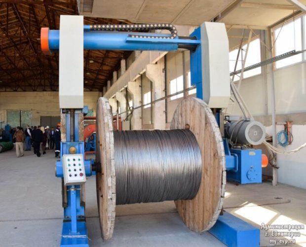 В Евпатории будут производить кабельно-проводниковую продукцию