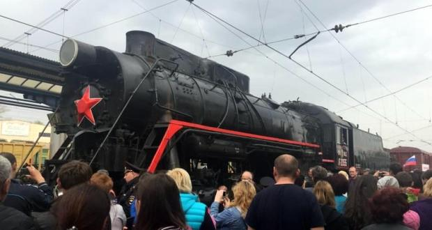 В апреле по Крыму проедет Поезд Победы